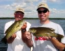 Jeff Weis and Jeff Sundin, Smallmouth Double 7-21-06